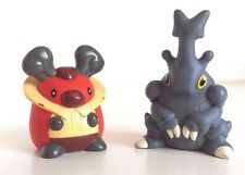 POKEMON HOLLOW FIGURES - FINGER PUPPETS FROM BANDAI - HERACROSS AND KRICKETOT