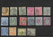 Malta. Conjunto de 16 sellos usados y nuevos antiguos