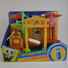 Fisher-Price Imaginext SpongeBob Camp Coral Campground Brand New