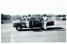 "1960's Drag Racing-Gas Ronda's 1964 Ford 427 ""THUNDERBOLT""-DEER PARK DRAGSTRIP"
