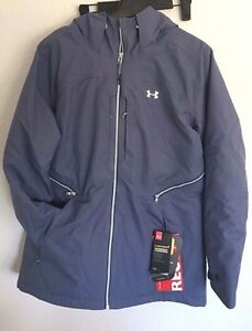 2017 NWT Womens UA Under Armour CGI Revy 20K Recco Jacket Purple S Small sx66