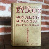 Dedica Henri-Paul Eydoux Monumenti Unsung Parigi Ile-De-France Perrin 1975