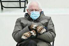 Bernie Sanders Mittens, Crochet Hand Made