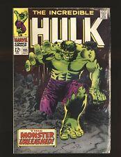 Incredible Hulk # 105 Good Cond.