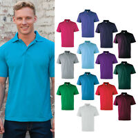RTXtra Men's Classic Polo Tee RX100 - Polycotton Plain Top Short Sleeves T-shirt