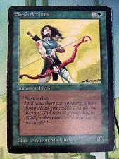 x1 Beta Elvish Archers (MP) MTG Magic