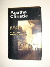 AGATHA CHRISTIE Le Train De 16H50 / La Plume Empoisonnée