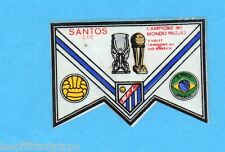 PANINI CALCIATORI 1965/66-Figurina - SANTOS - SCUDETTO di COPPA -Recuperata