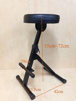 Haze KB009 Adjustable(4 ways) Musician Practice Performance Stool/Chair,FootRest