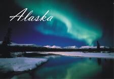 Alaska Northern Lights, AK, Souvenir Travel Locker Fridge Magnet #AK103