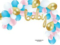 Balloon Garland Arch Party Kit Gender Reveal Party, Boy or Girl? Baby Shower