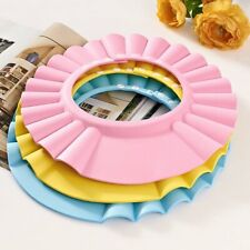 Adjustable Baby kids Shampoo Bath Shower Hat Cap Wash Hair Waterproof Shield US