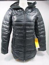 Lole Black Louise Insulated Long Parka Jacket Sz XS NWT