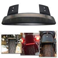 12V LED Smoke LENS Motorcycle Brake License Plate Tail Light For Harley Davidson