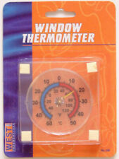 West Wst200 - Stick on Window Thermometer