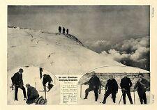 Die erste Montblanc- Besteigung im Winter Demarchi Willmann Gradl Tiffay von1907