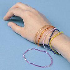 48 Plastic Seed Bracelets
