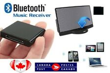 Bluetooth Music Receiver 30 pin dock adapter for iPhone iPod A2DP Audio Speaker