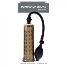 Linx Pumped Up Smoke Penis Pump Enlarger With Soft Noduled Sleeve Same Day p&p