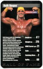 Hulk Hogan WWE Wrestling Trading Cards