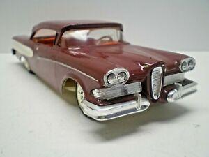 Vintage AMT1958 Edsel HT built Original screw bottom for restoration L@@K!