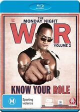 WWE - Monday Night War - Know Your Role : Vol 2 (Blu-ray, 2016, 3-Disc Set)
