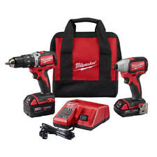 Milwaukee M18 2799-82CX 18-Volt 2-Tool Drill & Driver Combo Kit - Reconditioned