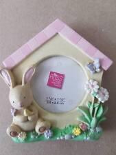 Rabbit/Flower Themed Photo Fridge Magnet