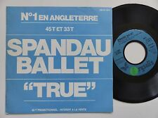 SPANDAU BALLET True DB 61184 PROMO FRANCE  RRR