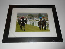 Graham Lee Hand Signed Amberleigh House Photo Display Framed.