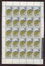 TRISTAN DA CUNHA 1972 FLOWERS 1/2p INVERT+1 1/2p SHEETS