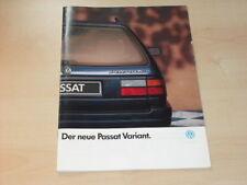 16897) VW Passat Variant Prospekt 1988