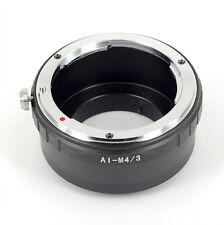 Nikon AI lens to MICRO 4/3 M4/3 adapter G2 GF2 GH2 EPL2