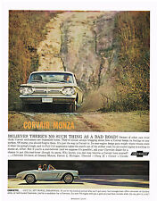 Vintage 1963 Magazine Ad Cherolet Believes There Is No Such Thing As A Bad Road