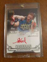 Sarah Kaufman 2013 Topps UFC Knockout Red Ink Autograph /15
