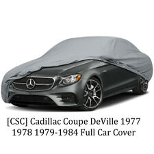 [CSC] Cadillac Coupe DeVille 1977 1978 1979-1984 Full Car Cover