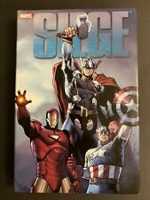 Marvel Siege Hardcover by Bendis Captain America, Iron Man, Thor.