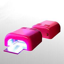 PINK 36W qualità fantastica LAMPADA UV PER GEL UV SMALTO GEL