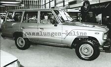 TOYOTA Land Cruiser Geländewagen Allrad 4x4 RAI 1981 Pressefoto Foto Auto