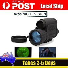 AU Ship!WG-50 Infrared Night Vision IR Monocular Telescope 6x50 Record DVR Video