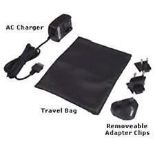 Genuine BlackBerry Micro USB Cargador de viaje del mundo Set + bolsa de viaje de cuero Zipup
