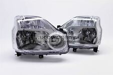 Nissan X-Trail T31 07-10 Headlights Headlamps Set Pair Driver Passenger N/S O/S