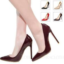 High (3 in. to 4.5 in.) Clubwear Slim Solid Heels for Women