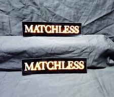 Matchless Amplifiers 2 Sticker Set