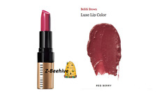 Bobbi Brown Luxe Lip Color Red Berry 19 0.13 oz. New in Box