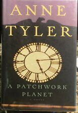 A Patchwork Planet by Anne Tyler (1998, HCDJ) 1st/1st, *SIGNED*