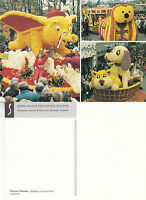 1980's THE FLOWER PARADE SPALDING LINCOLNSHIRE UNUSED COLOUR POSTCARD