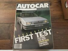 16/07/86 Autocar Magazine