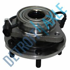 NEW Front Driver/Passenger Complete Wheel Hub & Bearing Assembly 5 Lug w ABS 2WD