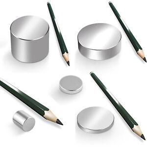 Neodym Magnet Magnete Scheibe groß ab 30mm 40KG-1600KG NdFeB rund N45 N52